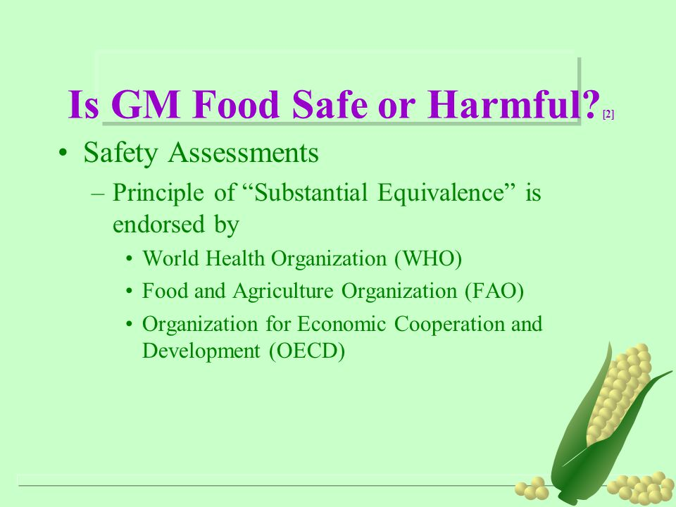 Is GM Food Safe or Harmful [2]